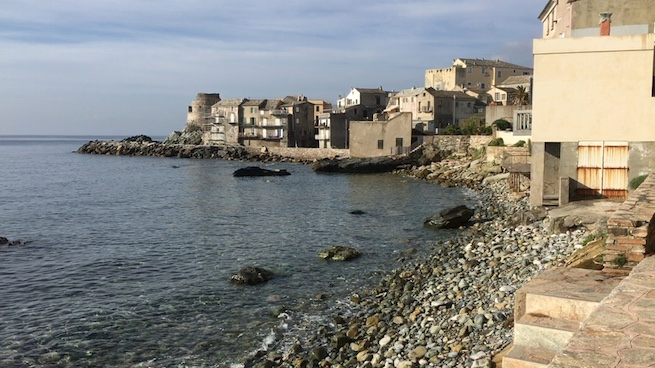 Campen auf Korsika Erbalunga