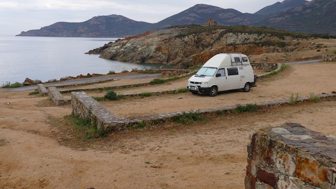 VW Bus auf Korsika Galeria