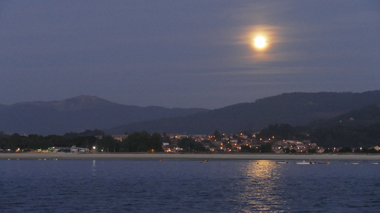 Mondaufgang Baiona
