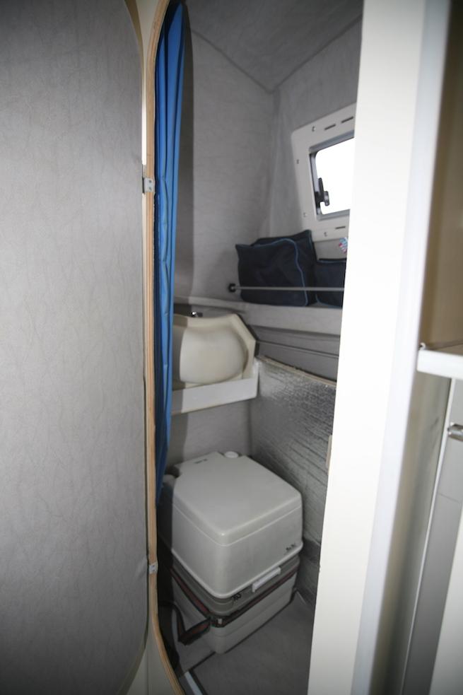 Duschraum mit WC