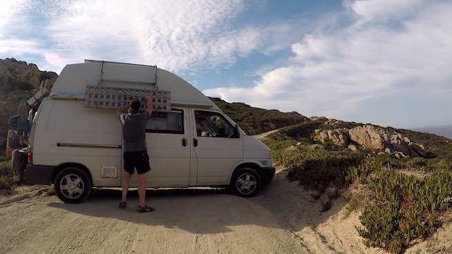 VW Bus auf Korsika Revellata