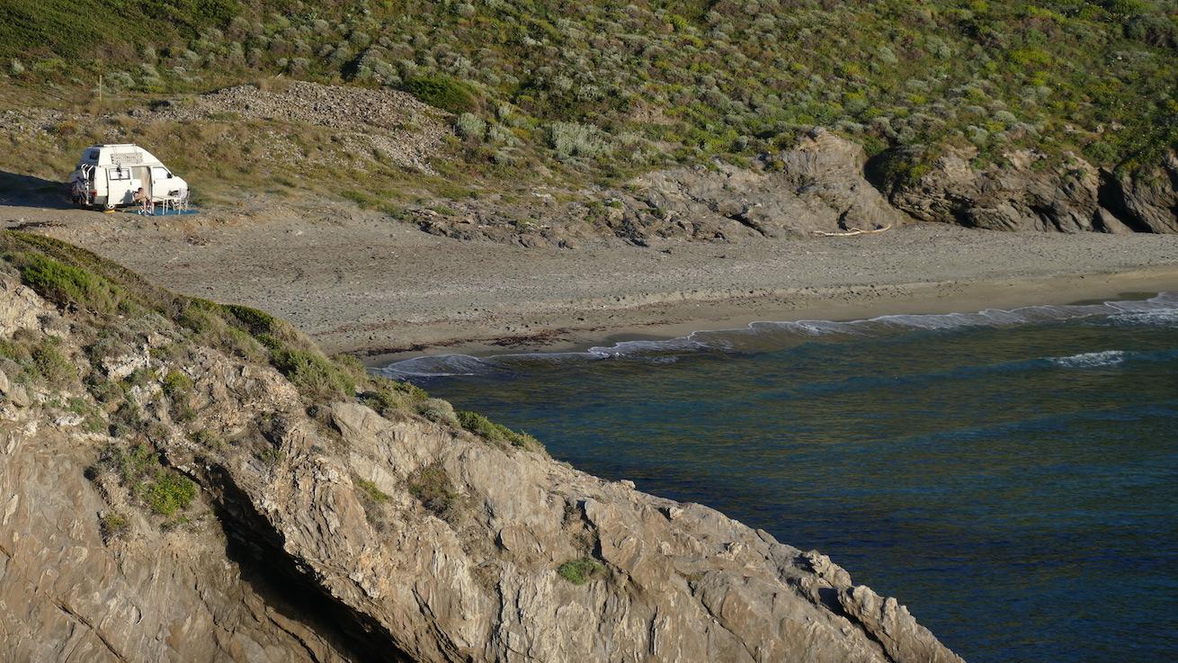 Campen auf Korsika Cap Corse