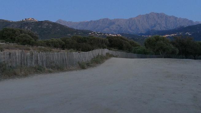 Campen auf Korsika Aregno Plage