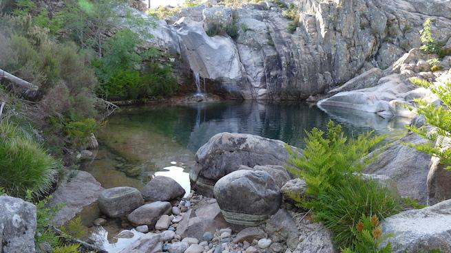 Campen Korsika Waterhole