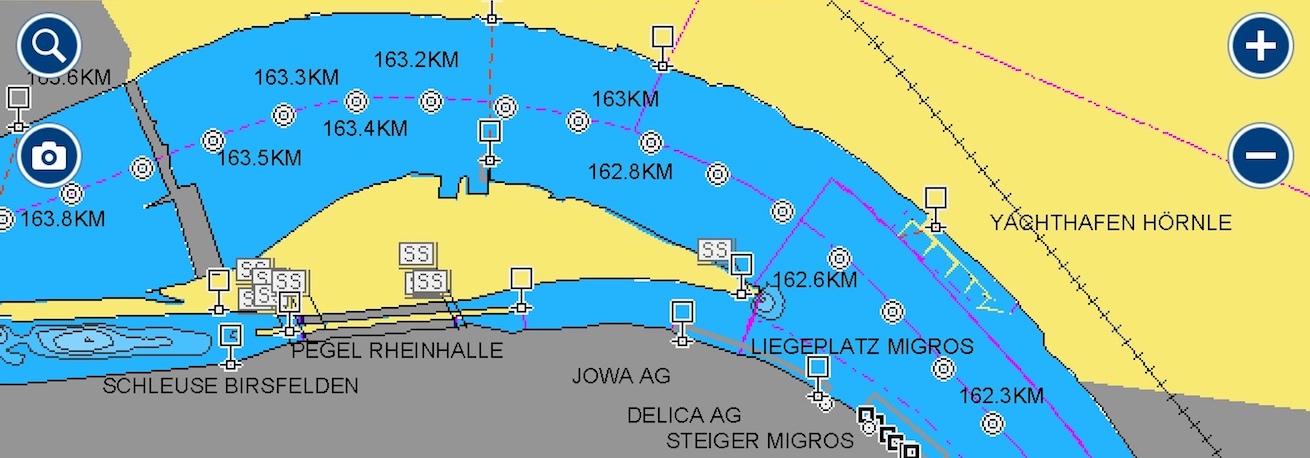 Auf dem Rhein von Basel bis zum IJsselmeer Slider
