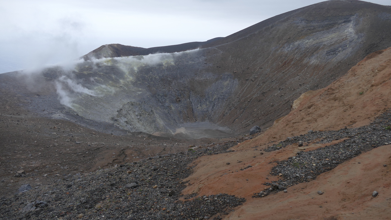 Vulcano Krater